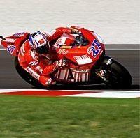 Moto GP: San Marin: Stoner, surpris et prudent
