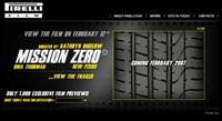 Mission Zero par Pirelli
