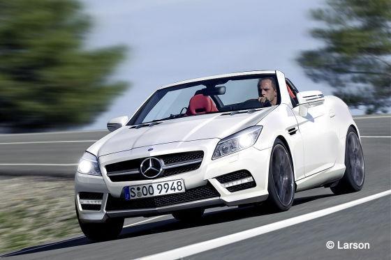 Futur Mercedes SLK : autobild le voit ainsi