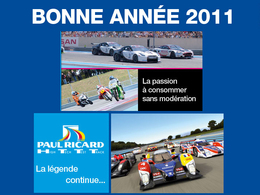 [vidéo] Le circuit HTTT Paul Ricard vous (se) souhaite une belle année 2011