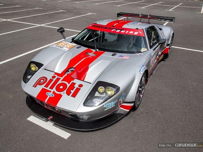 Photos du jour : Ford GT-R Mk. VII (Parade des Pilotes du Mans)