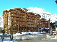 Opération Val d'Isère en blanc : le piéton est roi !