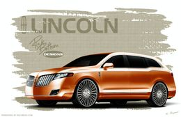 SEMA Show - Lincoln MKT Panache par Rick Bottom : bling bling soft