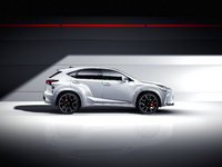 Lexus NX by will.i.am : exubérant