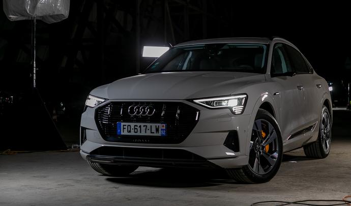 Audi e-tron Sportback: plus qu'une nouvelle carrosserie - Vidéo en direct du salon Caradisiac 2020
