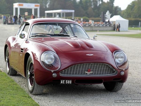 Photos du jour : Aston Martin DB4 Zagato (Concours d'élegance de Chantilly)