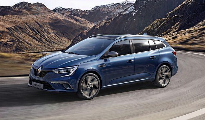 Première vidéo de la Renault Mégane Estate : découvrez les premières images de l'essai en direct