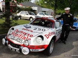 Photos du jour : Alpine A110 (Tour Auto)