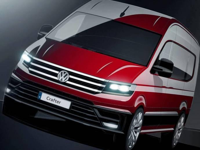 Volkswagen annonce son nouveau Crafter