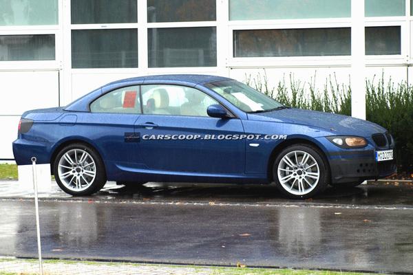Spyshot : BMW Serie 3 coupé-cabriolet restylée, c'est pour bientôt