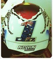 Moto GP - Honda: Un nouveau casque pour Casey Stoner