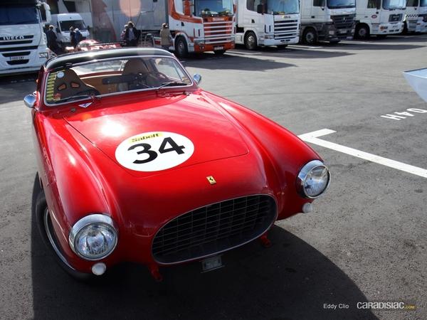 Photos du jour : Ferrari 250 Europa (10000 Tours)