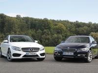 Comparatif vidéo - Mercedes Classe C vs BMW Série 3 : les blockbusters