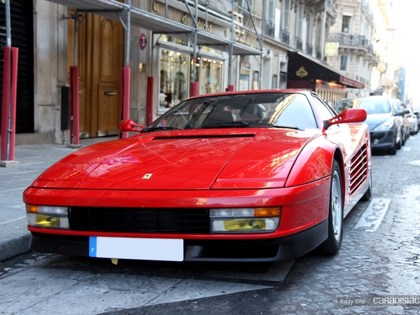 Photo du jour : Ferrari Testarossa