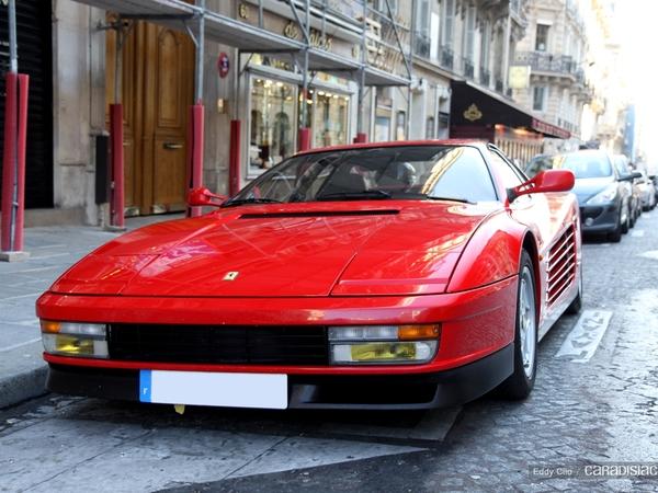 Photo du jour : Ferrari Testarossa