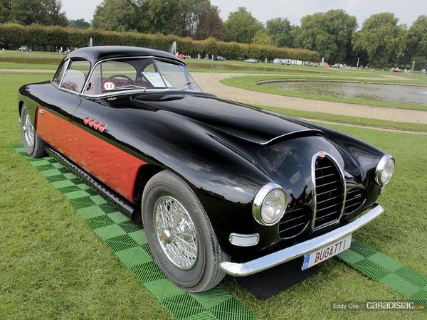 Photos du jour : Bugatti Type 101 - 1950 (Concours d'élegance de Chantilly)