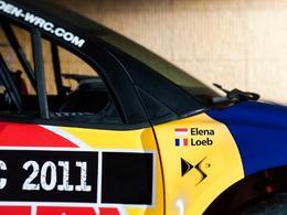 Petter Solberg sur une Citroën DS3 WRC en Suède!