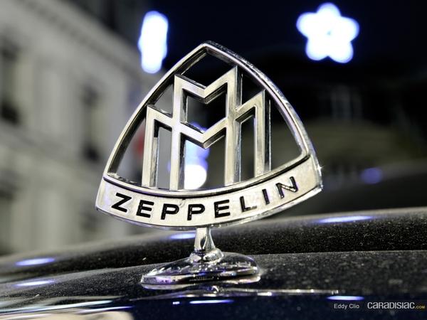 Photos du jour : Maybach Zeppelin