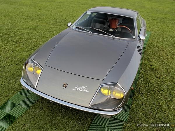 Photos du jour : Lamborghini 4000 GT Flying Star (Concours d'élegance de Chantilly)