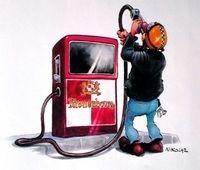Le litre de carburant à 2 €uros, c'est pour bientôt !!