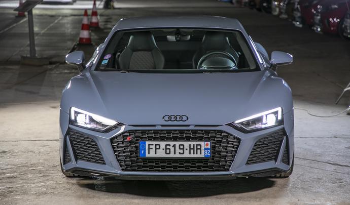 Audi R8 RWD : un petit tour et puis s'en va ? - Salon de l'auto Caradisiac 2020