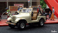 Miniature : 1/43ème - AMC JEEP CJ-7 Laredo