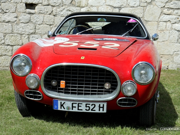 Photos du jour : Ferrari 212 export vignale (Tour Auto)