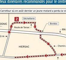 Actualité - Vie locale: Plus d'un an de détermination pour effacer un point noir sur les routes de Charente