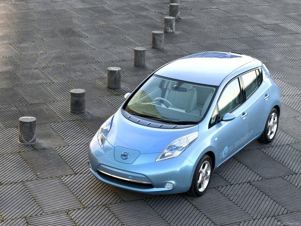 L'électrique d'Infiniti basée sur la Nissan Leaf et avec la recharge par induction