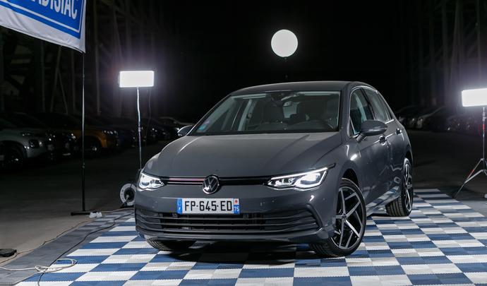 Volkswagen Golf 8 : le retour de la reine - Salon de l'auto Caradisiac 2020