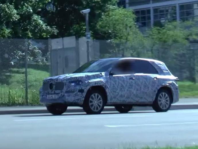 Scoop : le remplaçant du SUV Mercedes GLE prend l'air
