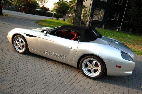 Ferrari 550 GTZ : la dernière de Zagato