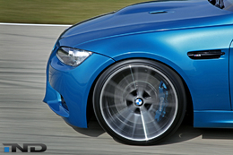 BMW M3 IND Custom Atlantis Blue (32 photos + vidéo)