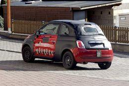 Fiat 500 Cabriolet : débusquée !