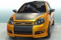 Salon de Sao Paulo : le Concept Ford Ka Beast doté de matériaux écolos