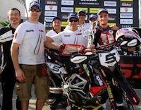 Supermotard, championnat du Monde 2013, round 6: Adrien Chareyre roi de Sicile