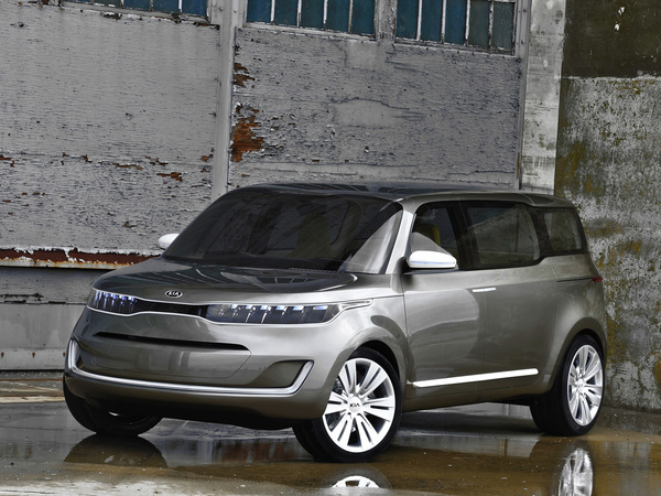 Détroit 2011 : Kia KV7 Concept, boîte familiale