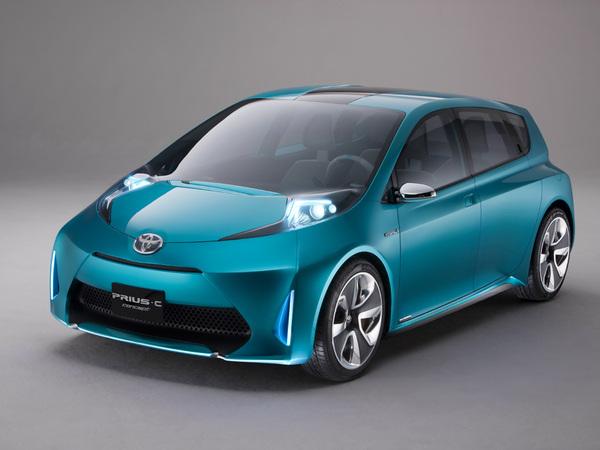 Détroit 2011 : Toyota Prius C Concept, la petite de la famille