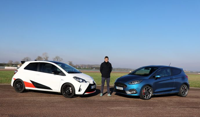 Comparatif vidéo - Les essais de Soheil Ayari - Ford Fiesta ST VS Toyota Yaris GRMN : les résistantes