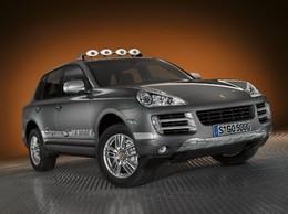Porsche Cayenne S Transsyberia: une série spéciale au Mondial