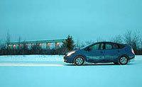 Toyota Prius: faut pas que ça glisse ...