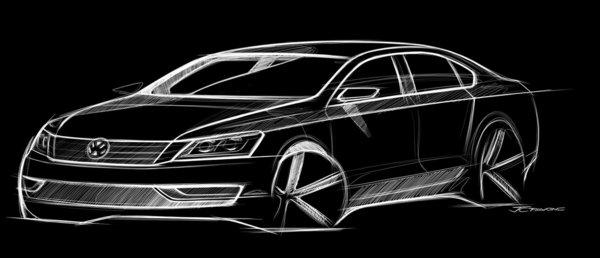 Volkswagen NMS : nouvelle image de la Passat américaine