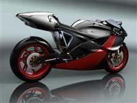 Moto virtuelle : Asimma Concept Bike de Sabino Leerentveld (3D)