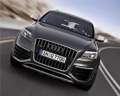 Audi Q7 V12 TDI: le monstre à Paris!