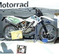 André Lenoble fera le Dakar en roulant au Bioéthanol