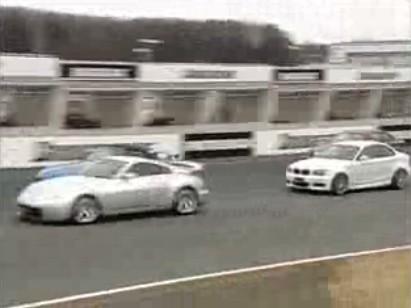 Vidéo : BMW 135i vs Nissan 350z vs Honda S2000 vs BMW M3 E92..