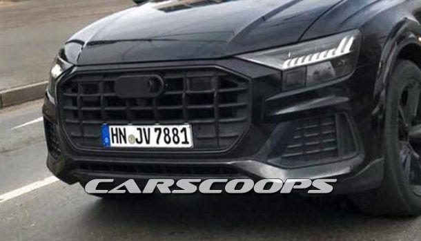 Audi : le Q8 se déshabille