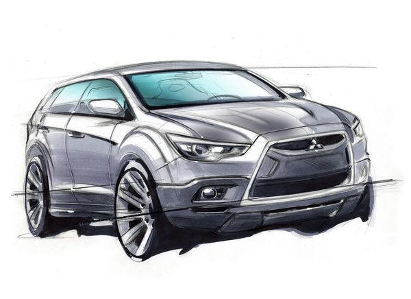 Mitsubishi nous donne un aperçu de son prochain petit crossover