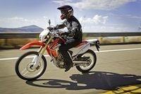 Honda : la CRF 250 L débarque sur le vieux continent
