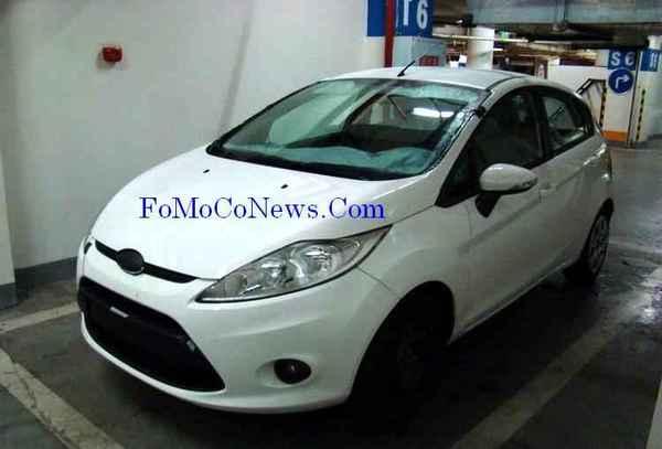 Future Ford Fiesta : débusquée !